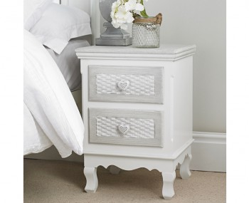 Bratinay 2 Drawer Bedside Chest