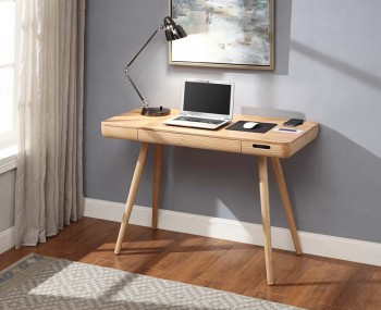 San Francisco Oak Smart Office Desk