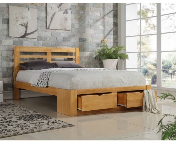 Barnes Oak Bed Frame