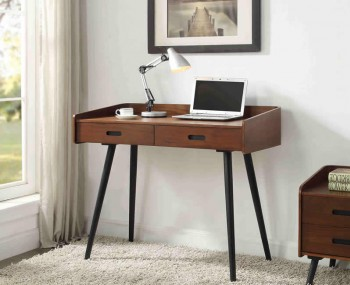 Vienna Walnut 2 Drawer Desk