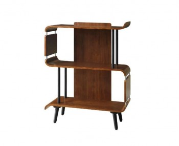 Vienna Walnut Short bookcase
