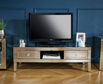 Valencia Mirrored TV Cabinet