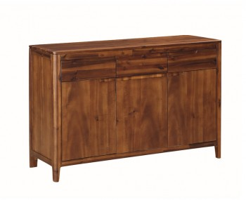 Dunmore Acacia 3 Door 3 Drawer Sideboard