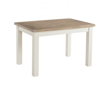 Santorini Solid Pine Hand Painted 120cm Dining Table