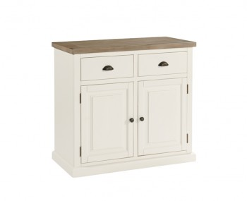 Santorini Solid Pine Hand Painted 2 Door Sideboard