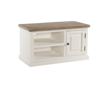 Santorini Solid Pine Hand Painted 1 Door Standard TV Unit