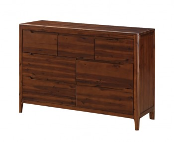 Dunmore Acacia 3+4 Drawer Chest