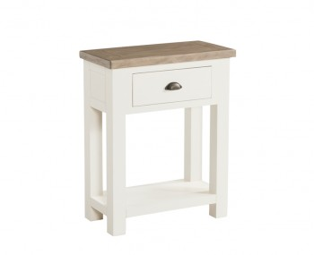 Santorini Solid Pine Hand Painted Small Console Table