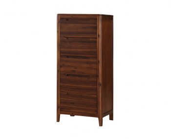 Dunmore Acacia 5 Drawer Narrow Chest