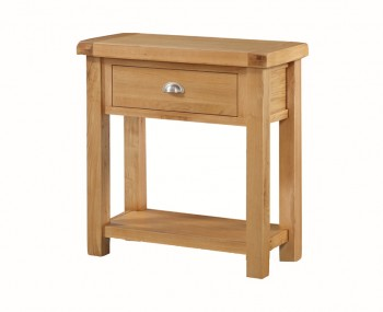 Newbridge Solid Oak 1 Drawer Console Table