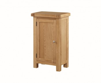Newbridge Solid Oak 1 Door Narrow Sideboard Unit