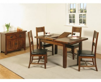 Rowland Acacia Small Extending Dining Set