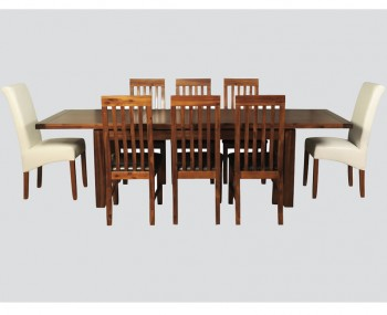 Rowland Acacia Large Extending Dining Table ONLY