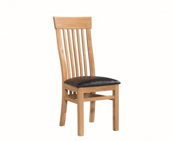 Treviso Solid Oak Ladderback Dining Chair