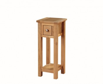 Hartford City Oak Solid Wood Telephone Stand