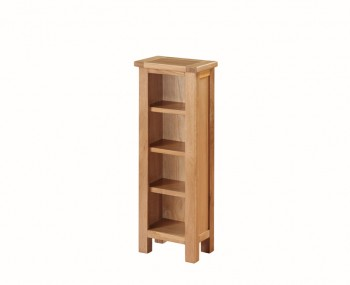 Hartford City Oak Solid Wood DvD Stand