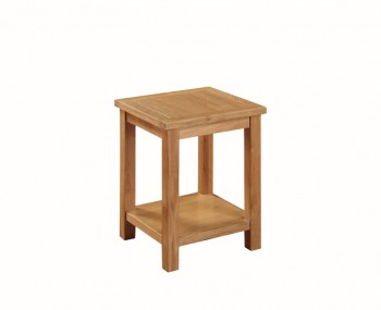 Hartford City Oak Solid Wood Lamp Table