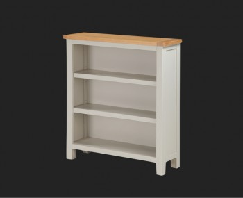 Hartford Painted Solid Oak Low Bookcase