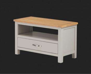 Hartford Painted Solid Oak Small TV Unit