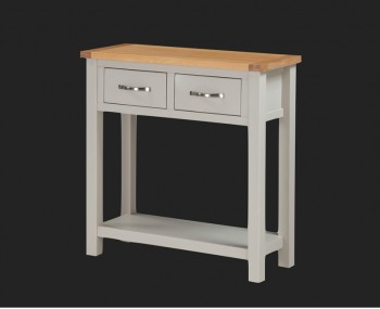 Hartford Painted Solid Oak Large Console Table