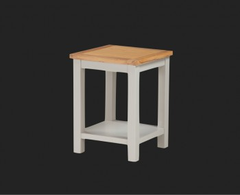 Hartford Painted Solid Oak Lamp Table