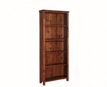 Hartford Solid Acacia Tall Wide Bookcase