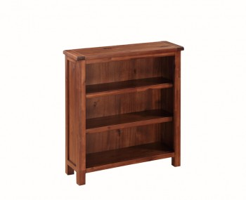 Hartford Solid Acacia Low Bookcase