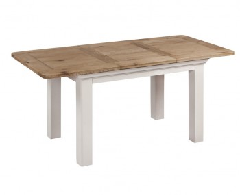 Lola Large Painted Oak Extending Dining Table