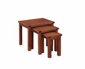 Hartford Solid Acacia Nest of 3 Tables