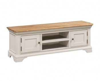 Lola Large Painted Oak TV Stand