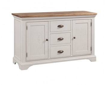 Lola 2 Door 3 Drawer Painted Oak Sideboard