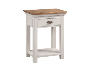 Lola 1 Drawer Painted Oak Console Table