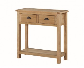 Kako Large Oak Console Table