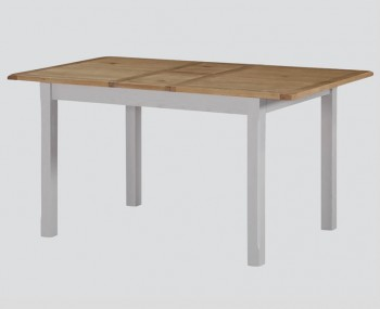 Kako Painted Oak Extending Dining Table