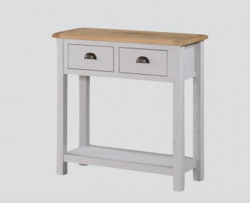 Kako Large Painted Oak Console Table