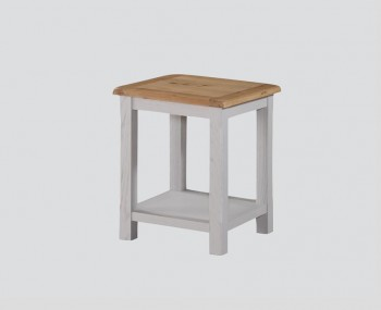 Kako Painted Oak Lamp Table