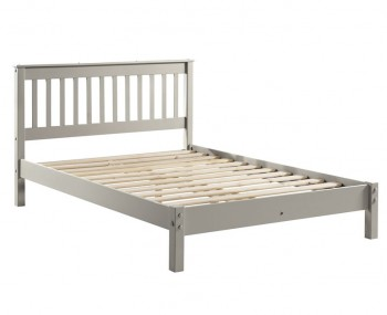 Salvador Grey Painted Slatted Bed Frame