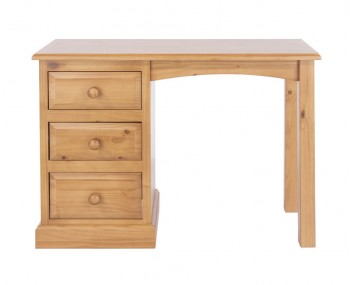 Hudson Pine 3 Drawer Dressing Table