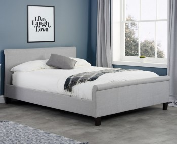 Holdings Grey Upholstered Bed