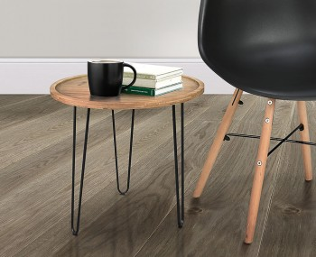 Finland Wooden Round Coffee Table