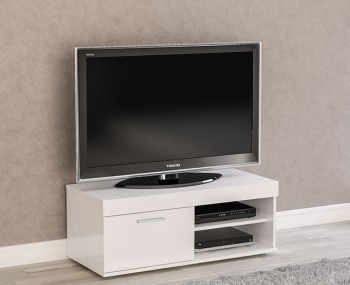 Nightingale White Small TV Unit