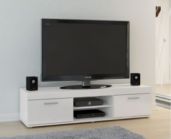 Nightingale White Large TV Unit