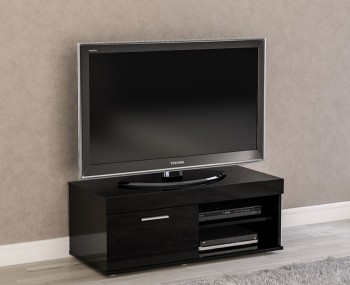 Nightingale Black Small TV Unit