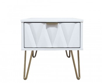 Marilyn Diamond 1 Drawer Nightstand
