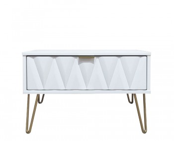 Marilyn Diamond Wide 1 Drawer Nightstand