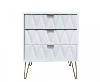 Marilyn Diamond 3 Drawer Narrow Chest