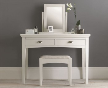 Hampstead White Dressing Table and Mirror *Special Offer*