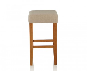 Liam Mink Upholstered Bar Stools