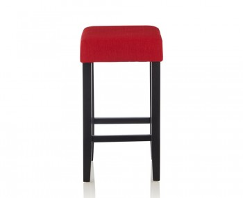 Liam Red Upholstered Bar Stools