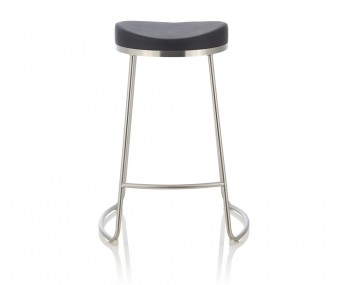 Marcus Black Faux Leather Bar Stools